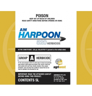 AW Harpoon 520 Herbicide