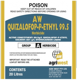 AW Quizalofop-P-Ethyl 99.5 Herbicide