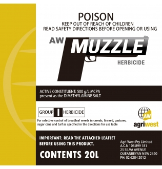 AW Muzzle Herbicide